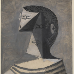 Pablo-Picasso-Busto-di-uomo-in-maglia-a-righe-1939-Venezia-Collezione-Peggy-Guggenheim-photo-David-Heald-©-Succession-Picasso-by-SIAE-2016